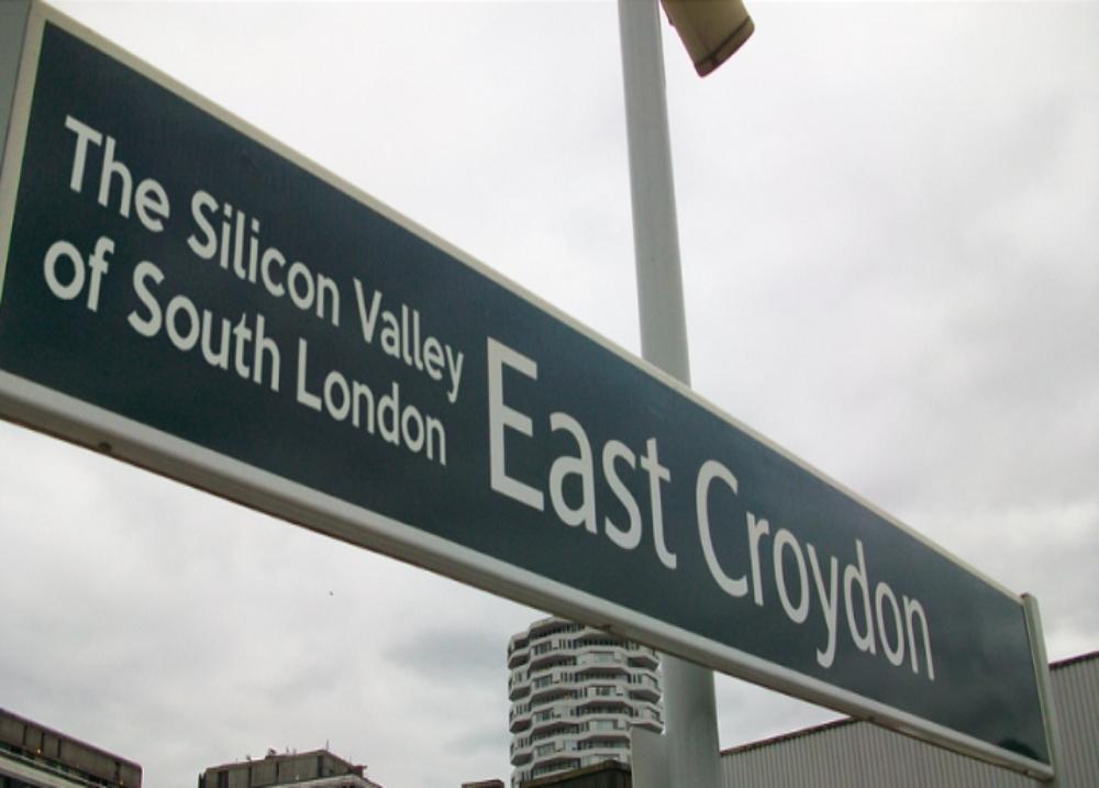 silicon valley east croydon sign
