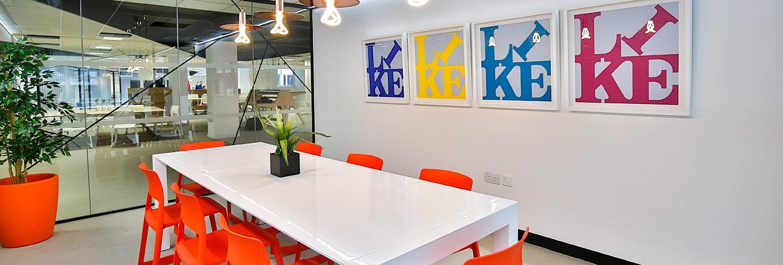 bright meeting room croydon