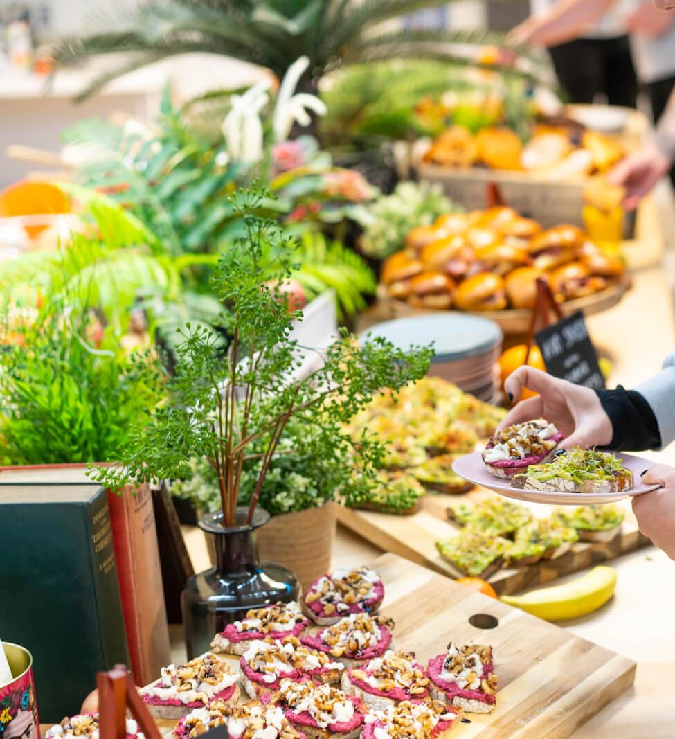 Healthy food from Byte Cafe Croydon