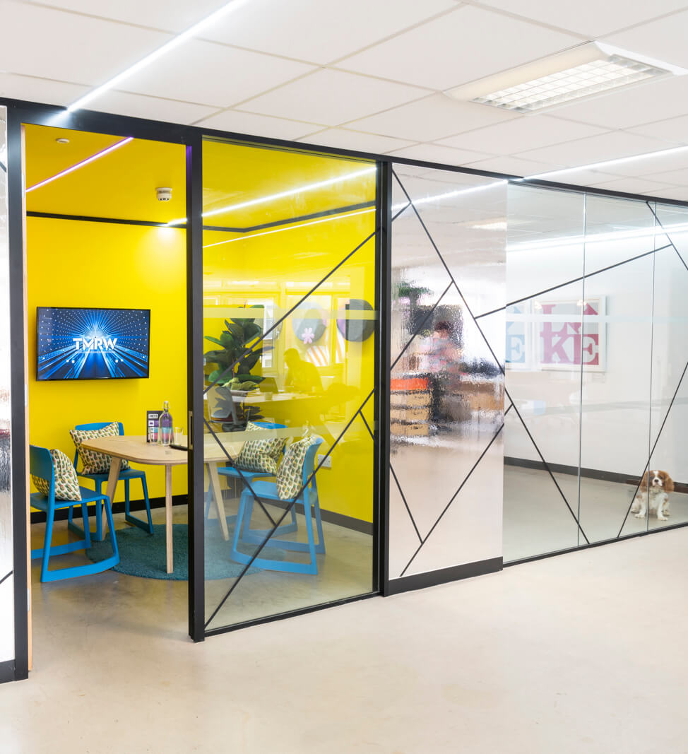 Meeting rooms at coworking croydon