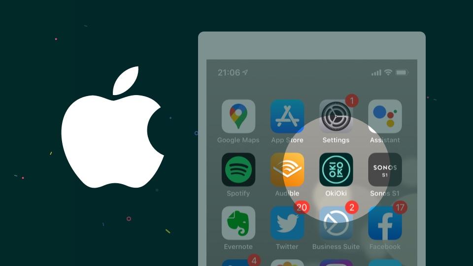 Comment ajouter l'application OkiOki à l'écran d'accueil de votre appareil Apple