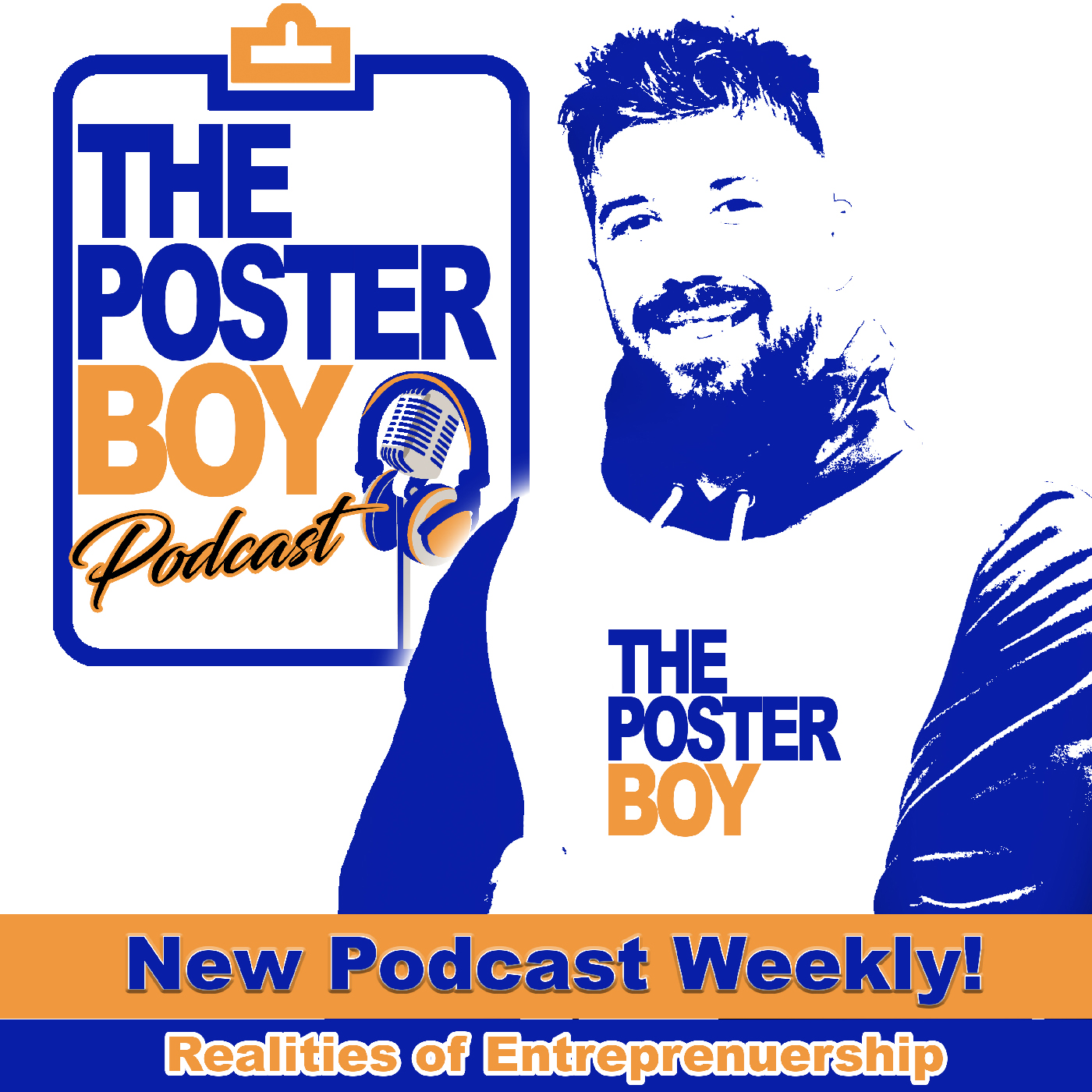 Listen to the Poster Boy Podcast