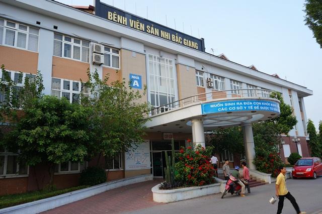 Bệnh viện sản nhi tỉnh Bắc Giang
