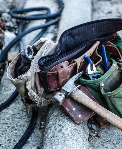 demolition work tools