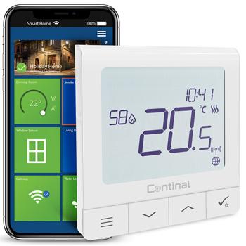 Quantum digital thermostat