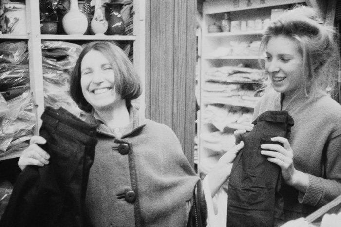 Betty and Francesca Woodman