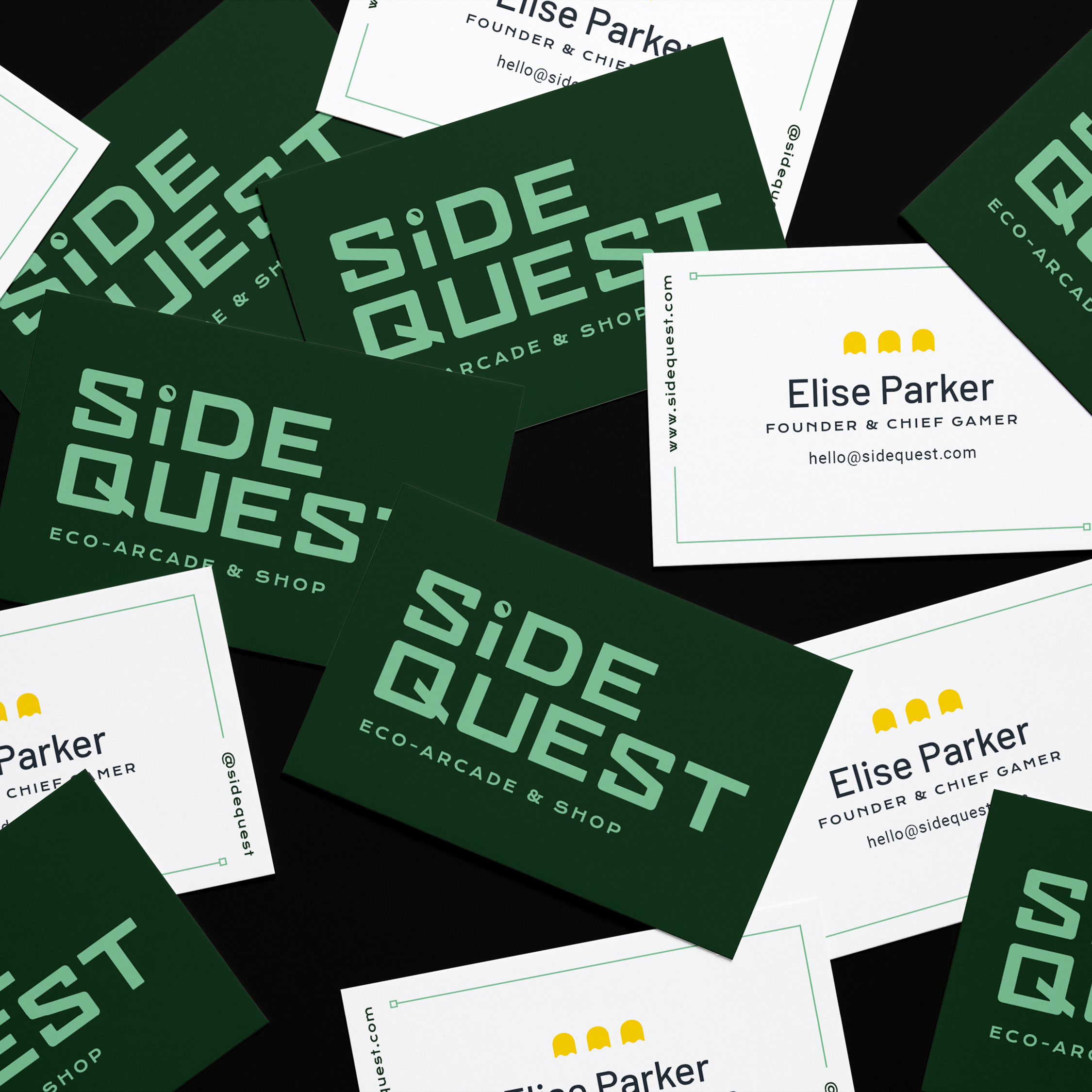 Business cards for Side Quest