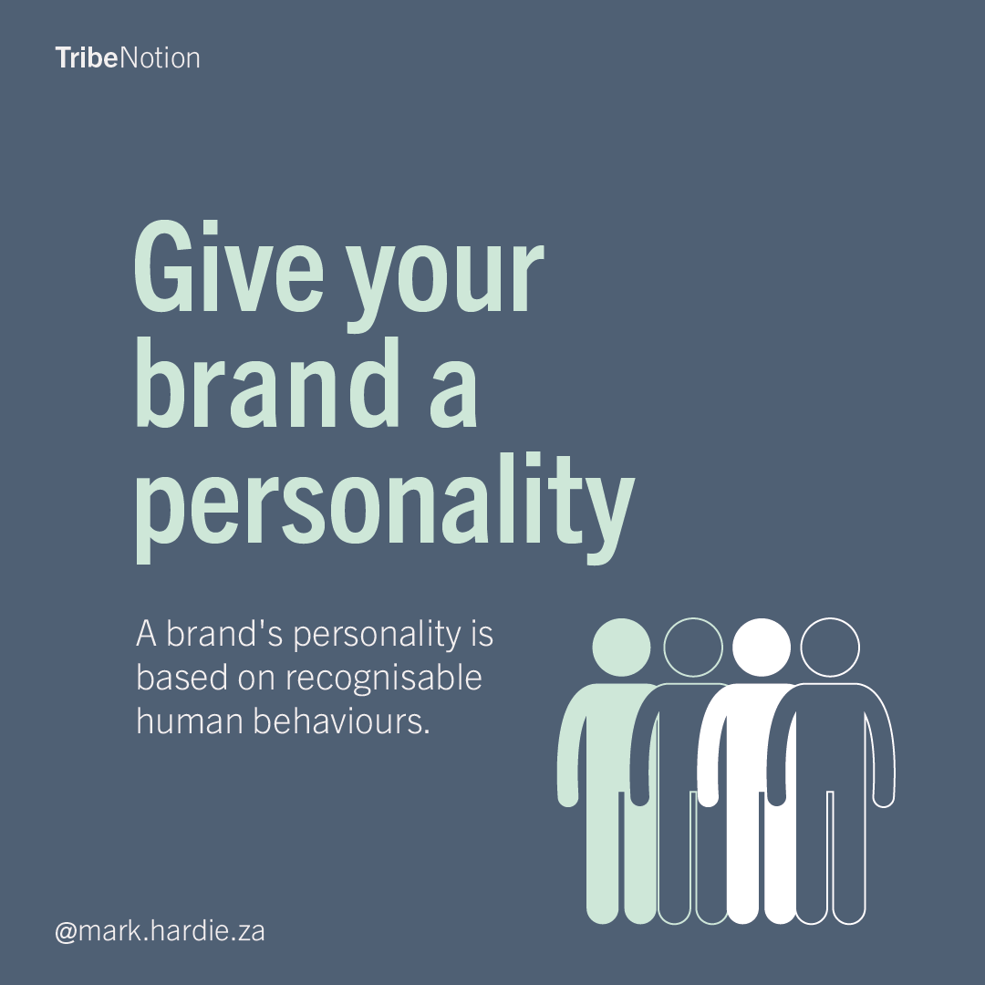 Give your brand a personality