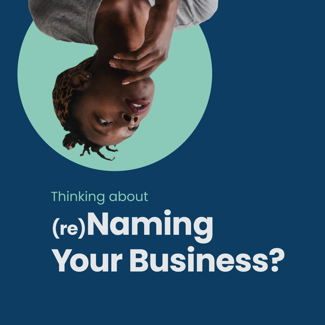 What to think about when naming your business