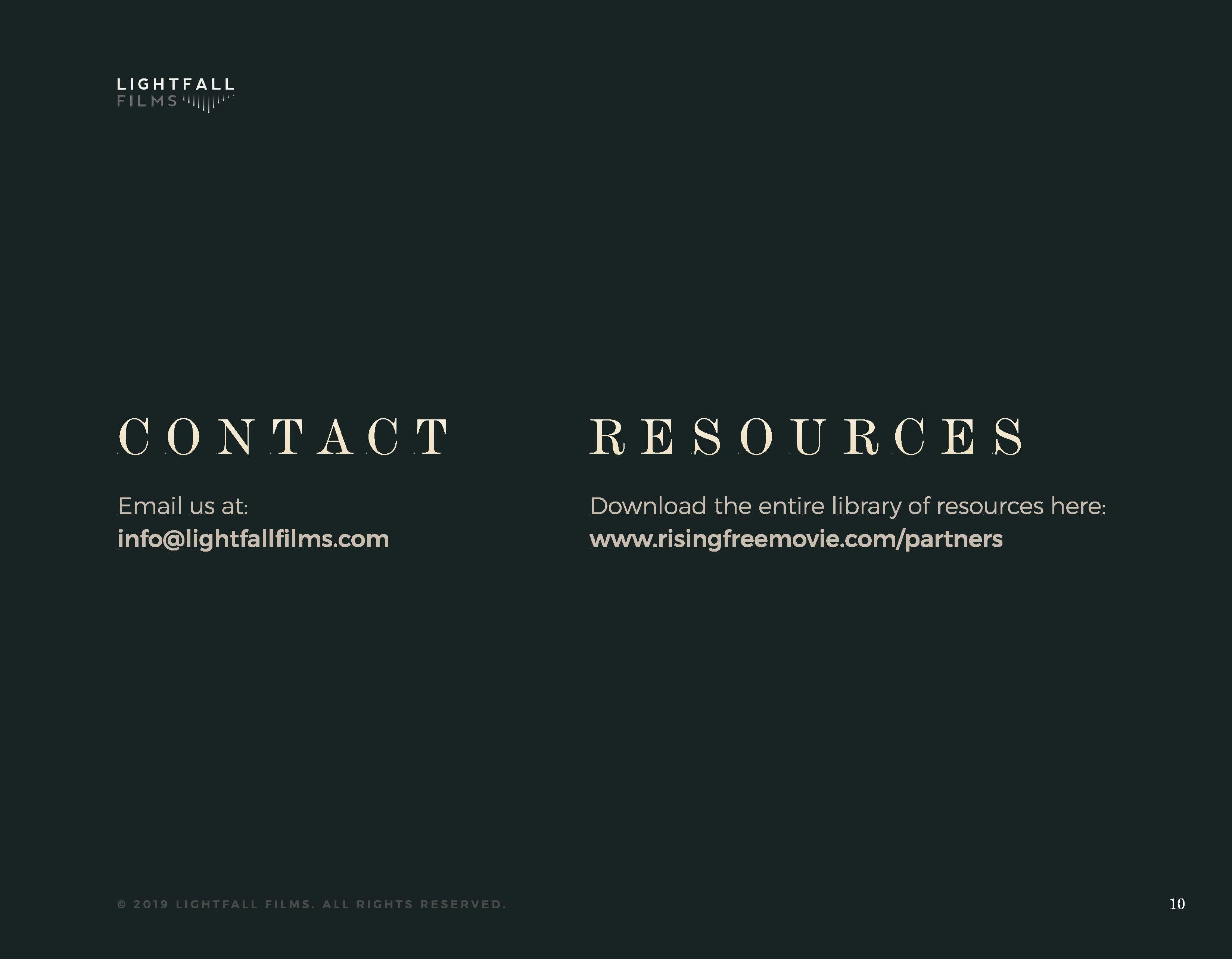 Rising Free PDF Document Page