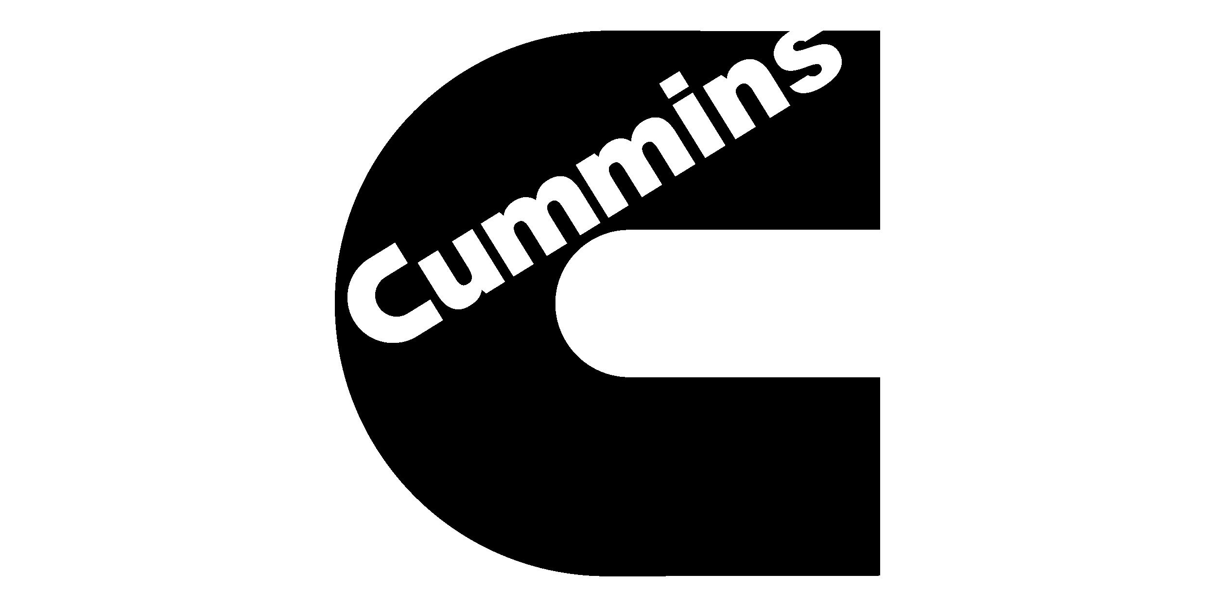 Logo cummins negro