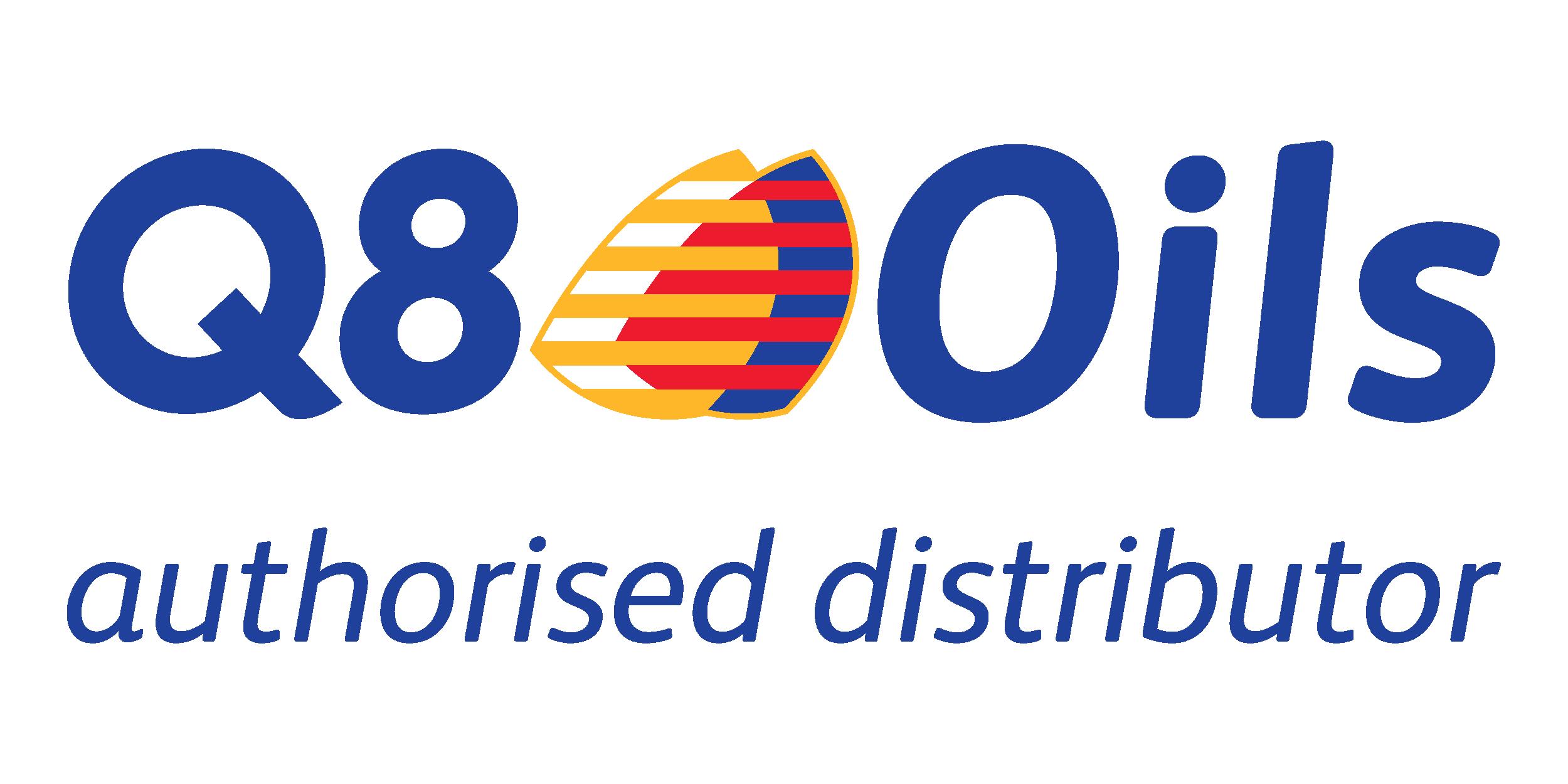 Logo q8Oils azul