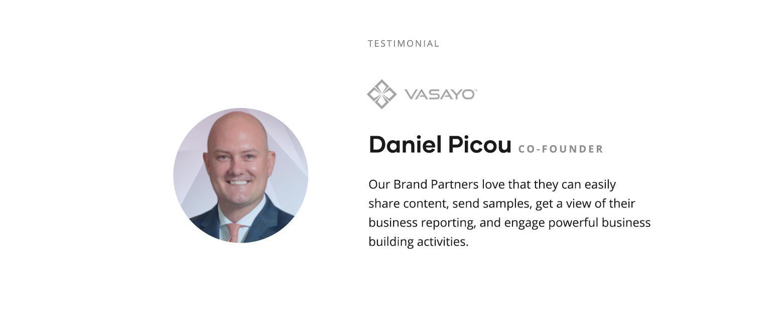 Daniel Picou Testimonial