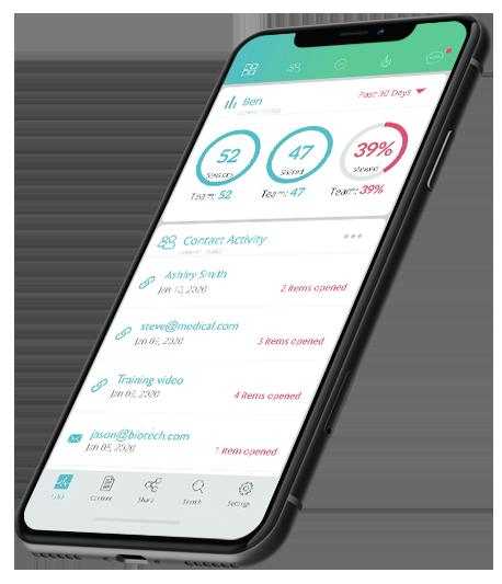 mobile sales crm software sample