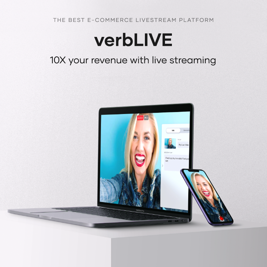 verb live stream sales