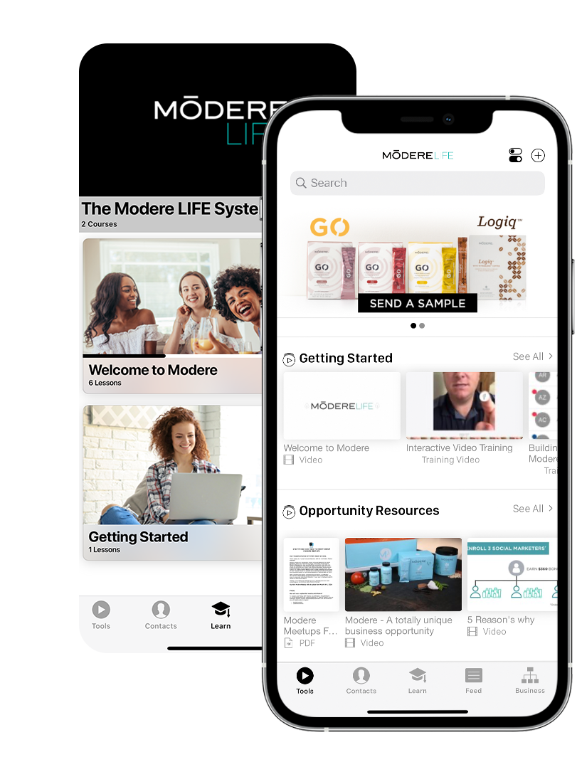 verb sales enablement mobile app for isagenix