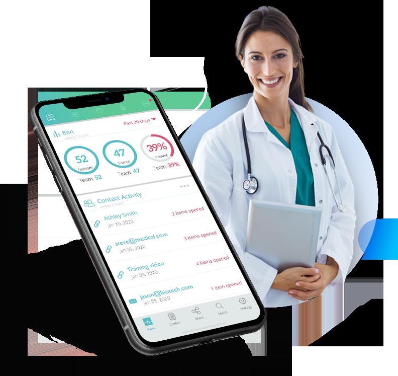 medical device sales enablement sample