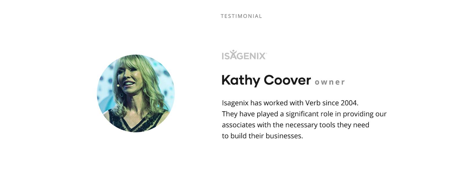 Kathy Testimonial