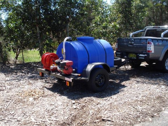 HIGH PRESSURE PUMP TRAILER