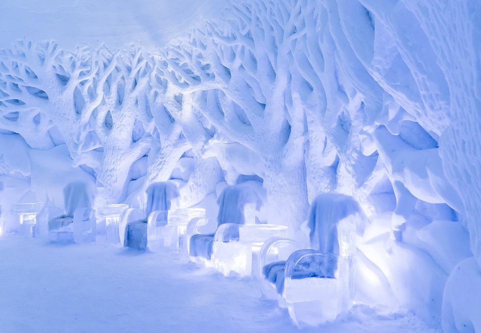 Snowhotel, Ice Bar, Ice Sculptures, Kirkenes, Norway