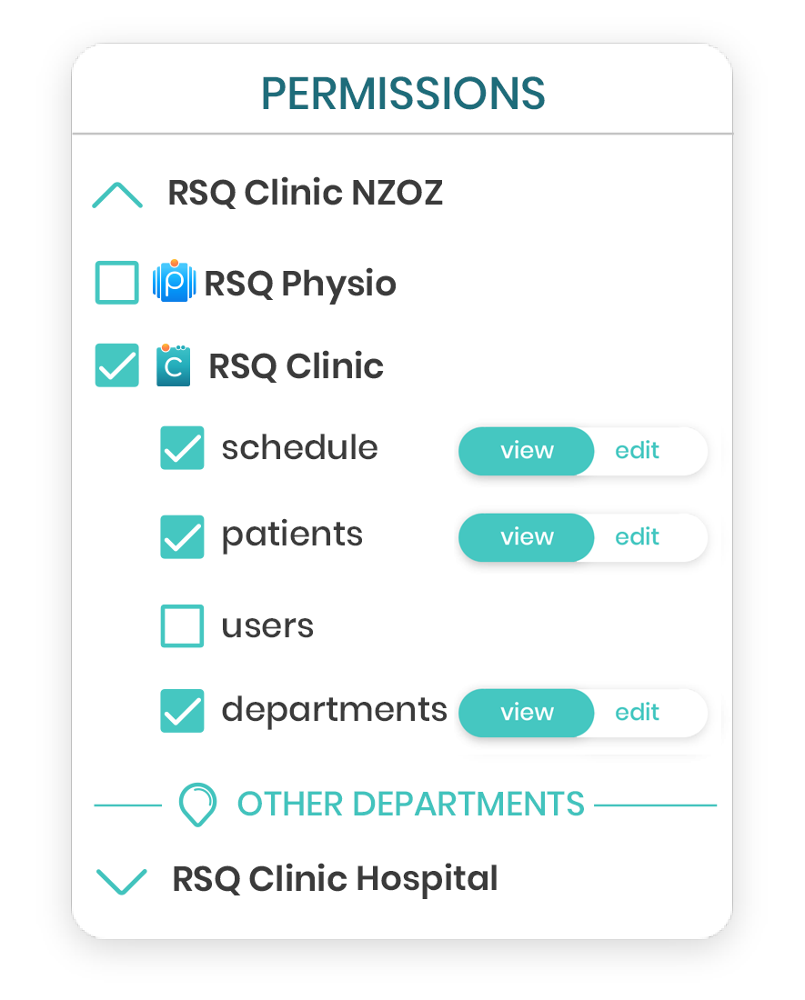 RSQ Clinic Rights