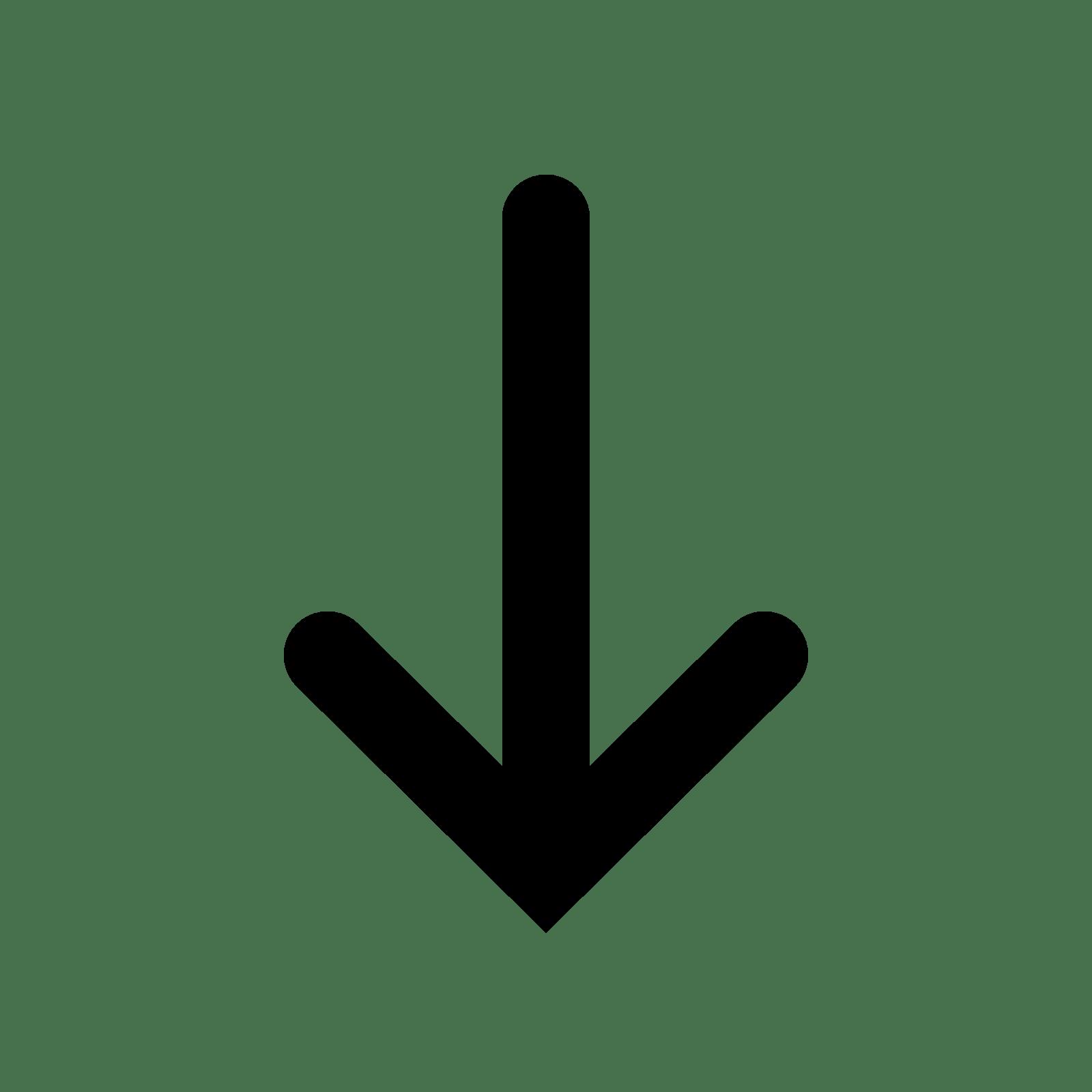 black arrow symbol
