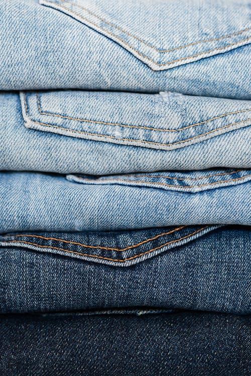 jeans stacks