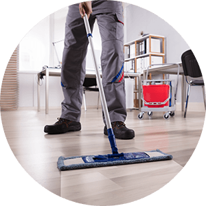 commercial-cleaning-man-cleans-an-office-space