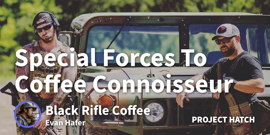 Former Special Forces Operator Turned Coffee Connoisseur