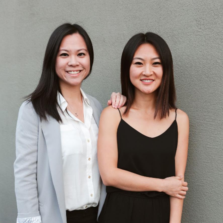Vivian Chan + Jennifer Qiao