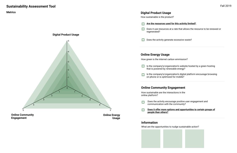 Sustainability Assessment Tool V3
