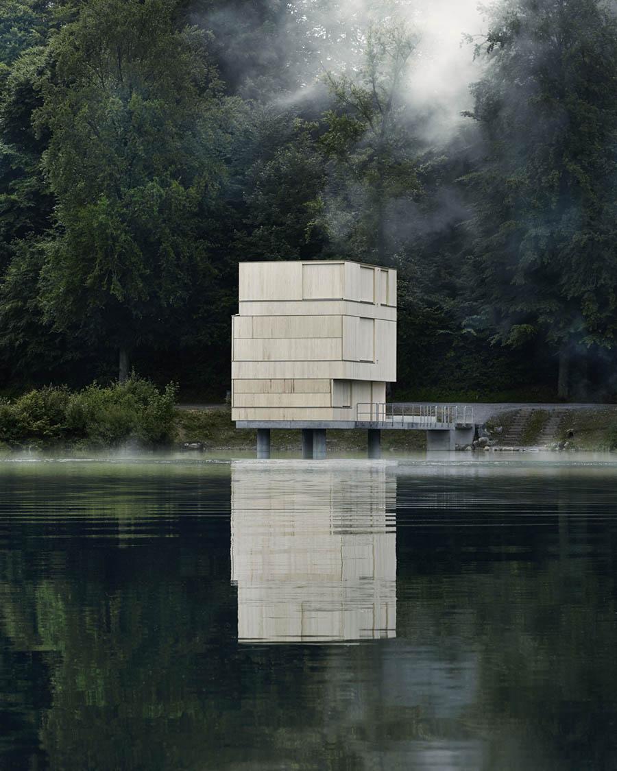 Lake Rotsee Refuge by AFGH