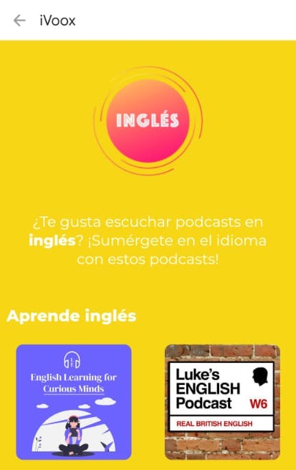 We're Number 1 on iVoox (the Spanish-speaking world's favourite podcast app)