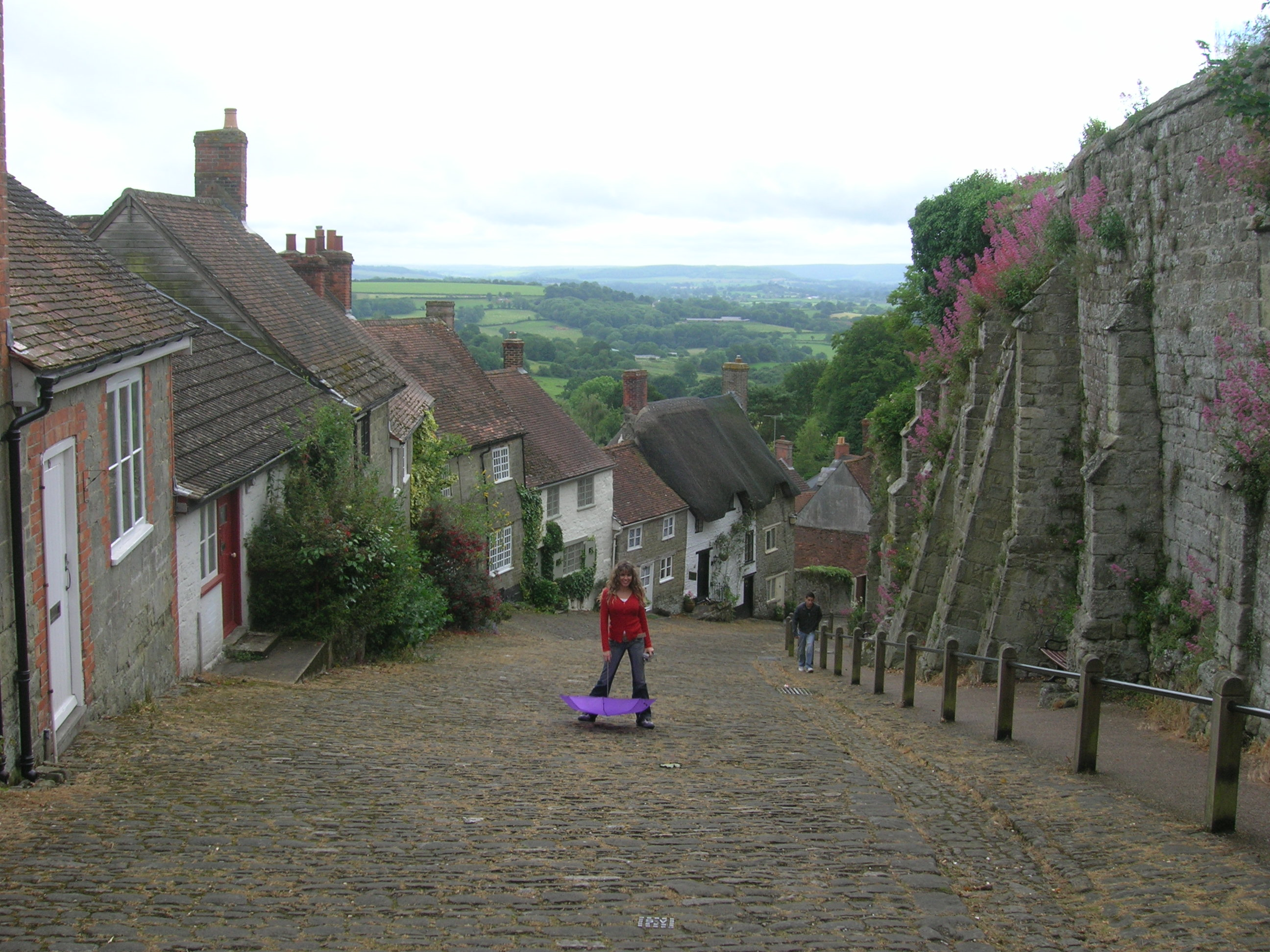 Learning English in Shaftesbury