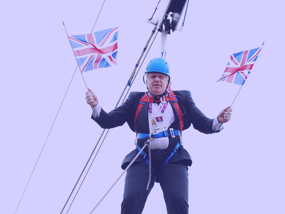 The English of Boris Johnson