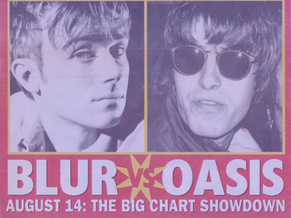 Oasis vs. Blur