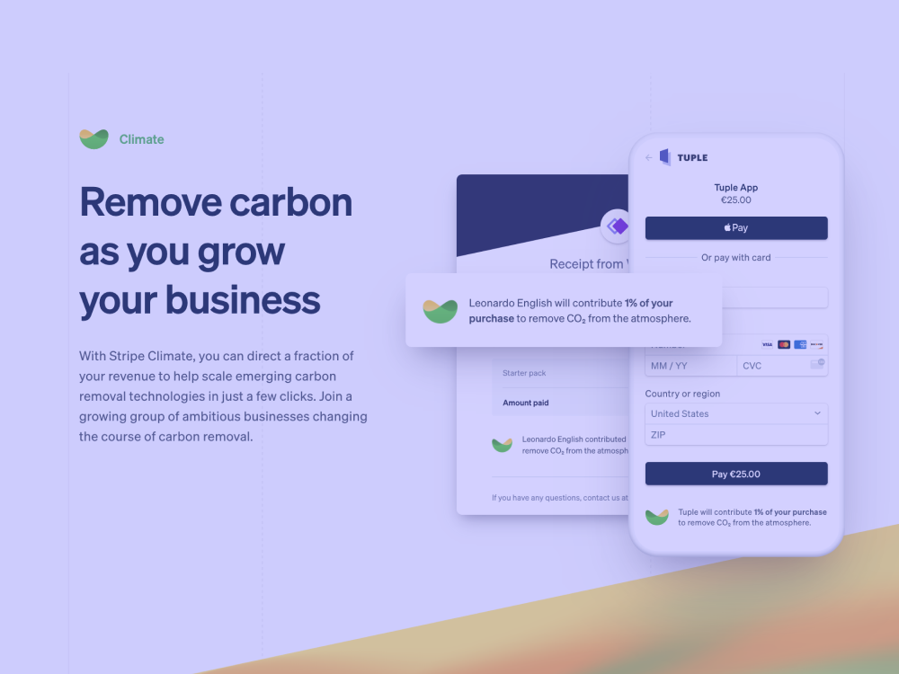 We're Now Part of Stripe Climate