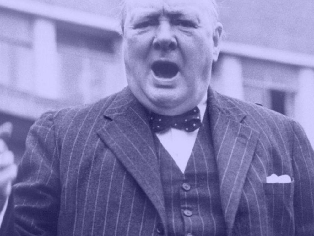 Winston Churchill & The English Language