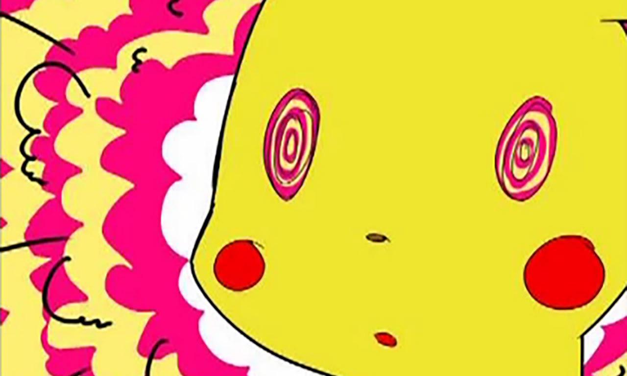 Pikachu, under the influence...