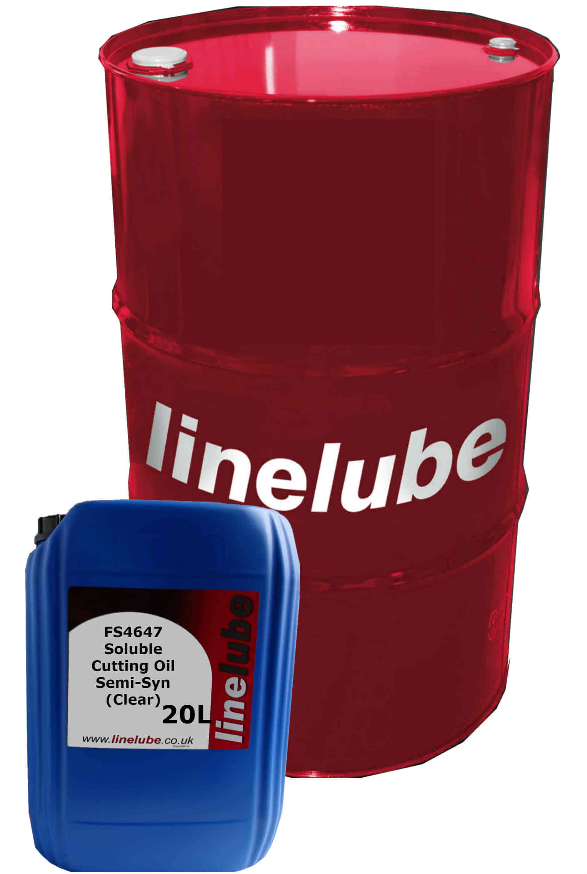 linelube FS4647 Soluble Cutting Oil Semi-Syn (Clear)