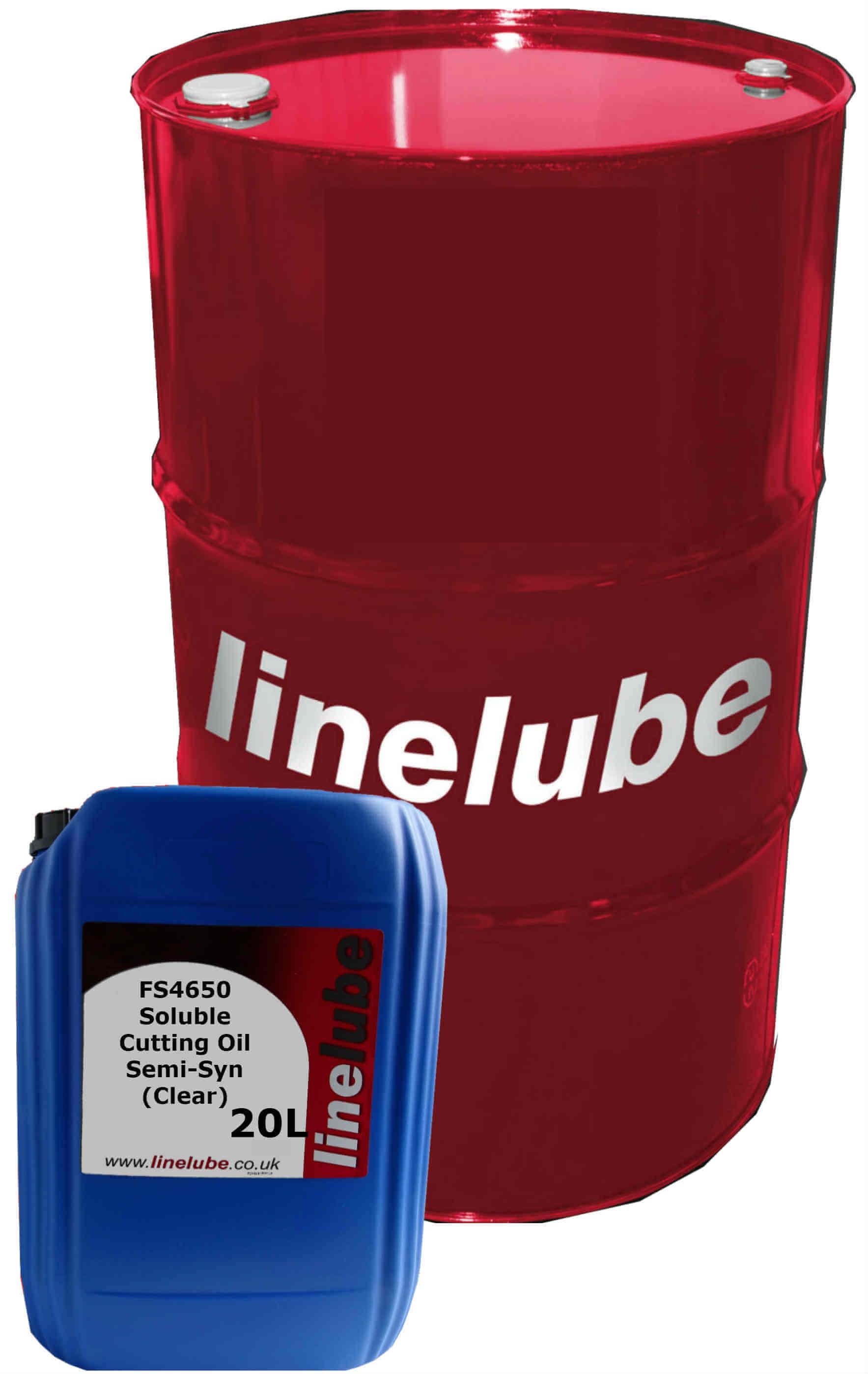 linelube FS4650 Soluble Cutting Oil Semi-Syn (Clear)