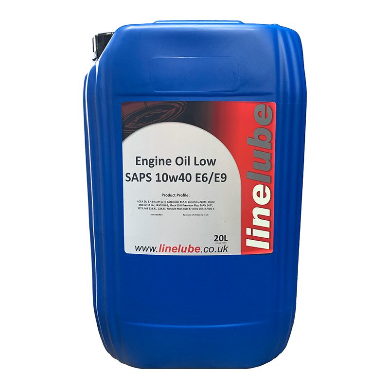 Linelube Low SAPS 10W40 E6/E9 Engine Oil
