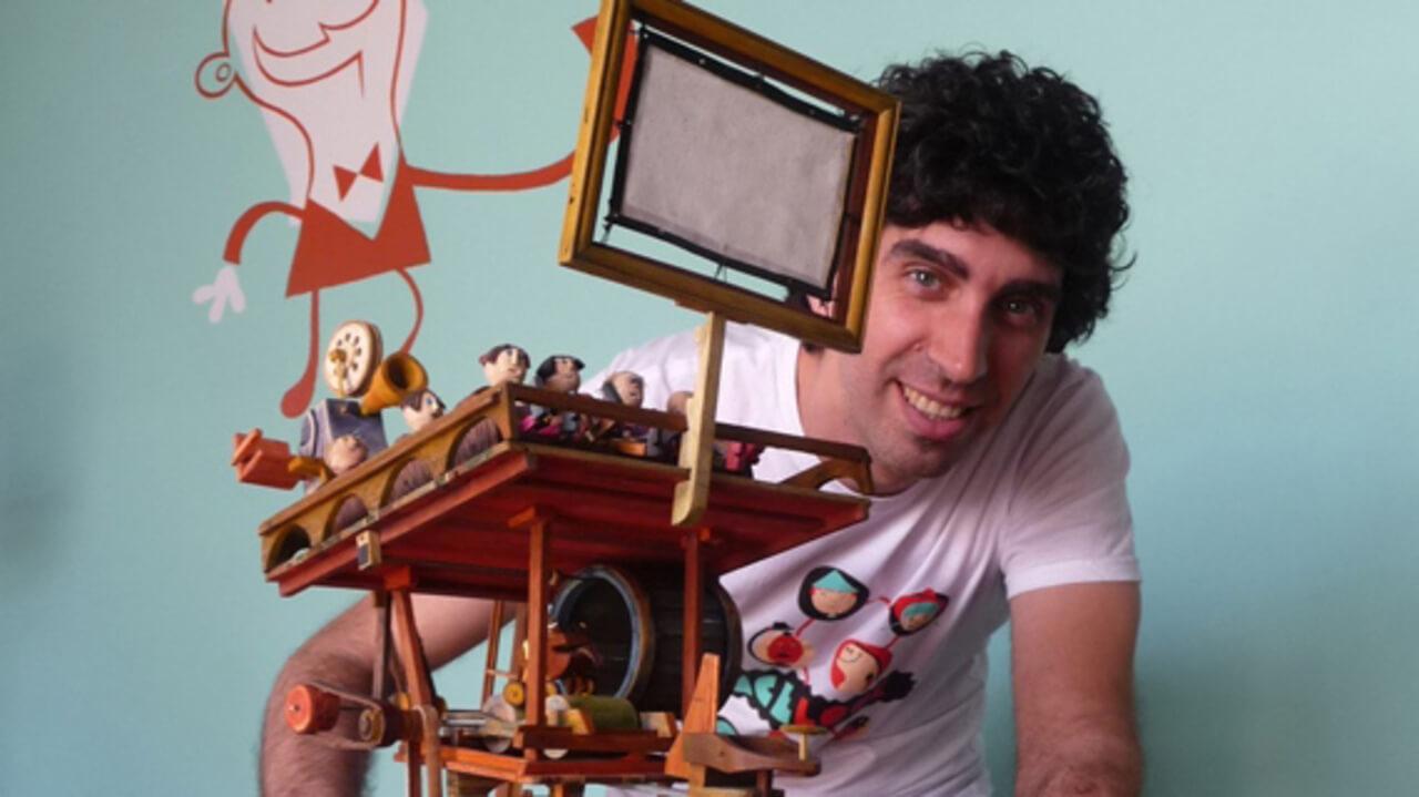 The animated worlds of Zaramella - אוסף זרמלה בנוכחות הבמאי