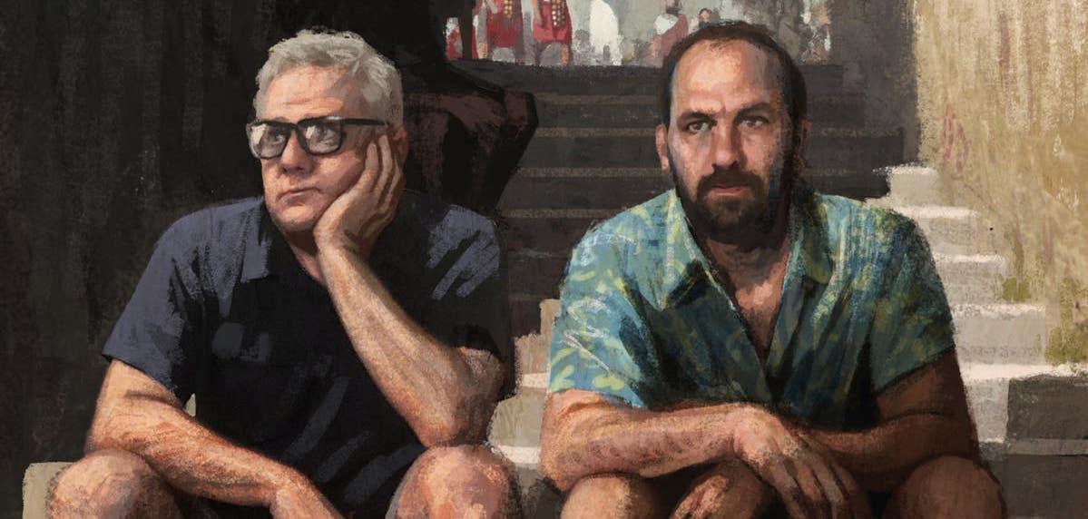מפגש אמן: מאחורי החורבן / דוד פולנסקי ומיכאל פאוסט