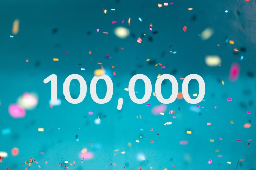Our global user pool has reached 100,000 testers