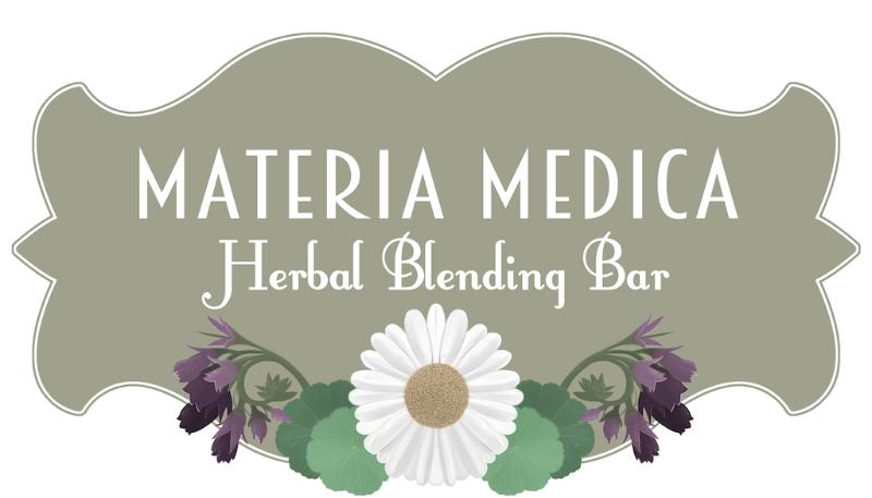 Materia Medica Herbal Blending Bar