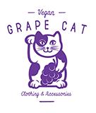 Grape Cat Vegan Clothing and Accessories