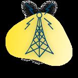 off-grid LoRa WAN antenna icon
