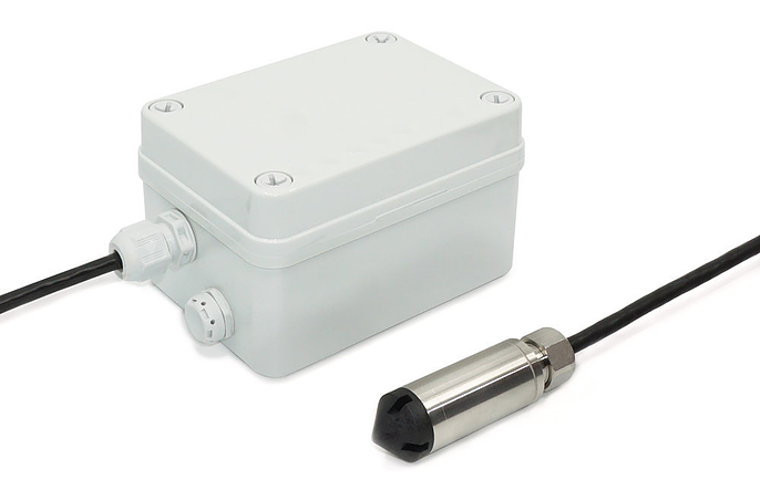 mOOvement pressure Sensor for robust environments like dams and creeks to remotely track water levels.