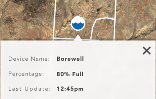 All in one view for customers to see your water points on the map to check if your stock has access to water.